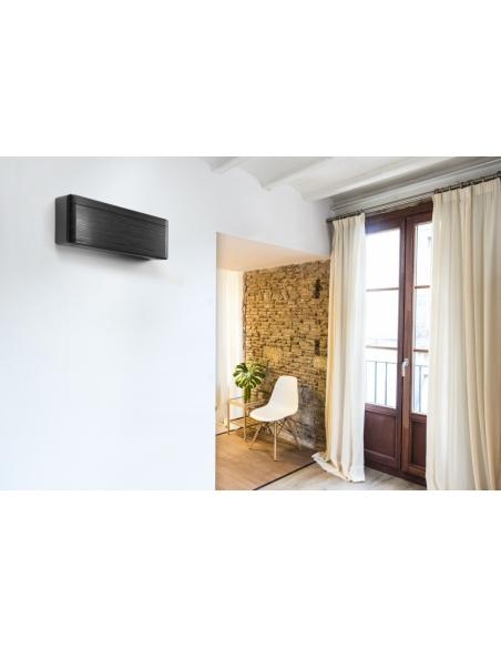 Klimatizácie do domácnosti Klimatizácia Daikin Stylish čierna blackwood 5,0kW R32 Monosplit  - 3