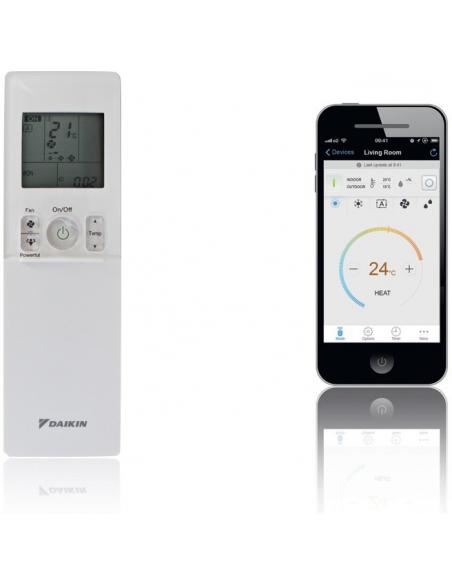Klimatizácie do domácnosti Klimatizácia Daikin Emura II antracitová 2,0kW R32 Monosplit  - 6