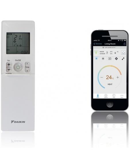Klimatizácie do domácnosti Klimatizácia Daikin Emura II antracitová 5,0kW R32 Monosplit  - 6